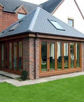 Sunroom roofs mono pitched roof also known as a lean to for Sunroom roofs